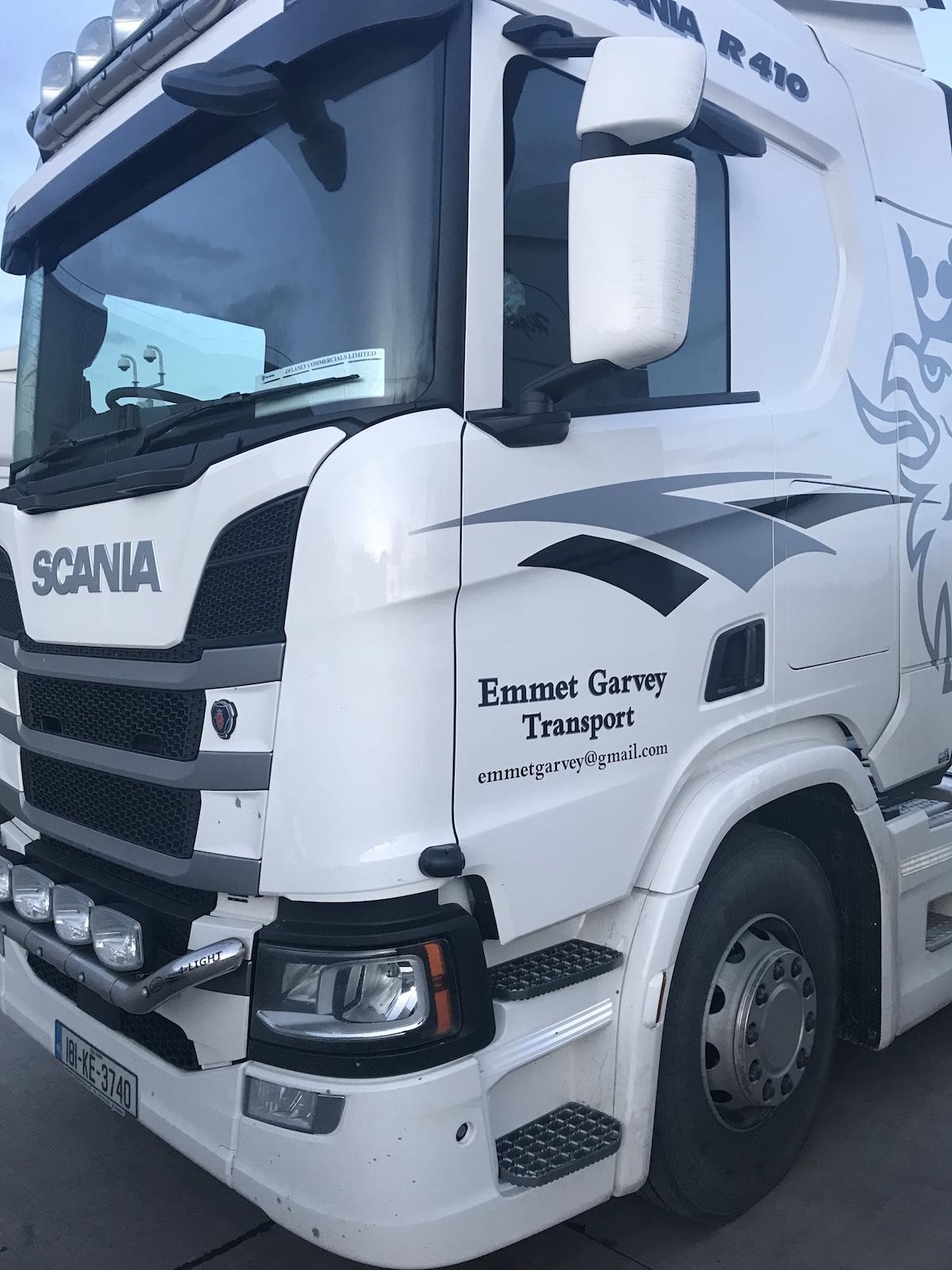 Emmet Garvey Scania