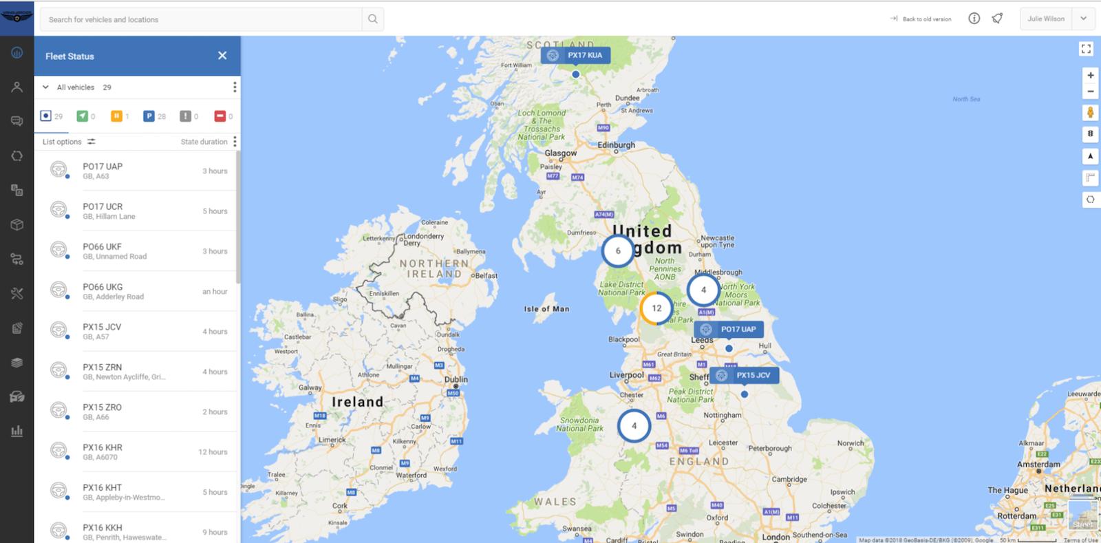 Photos of TrustTrack Map